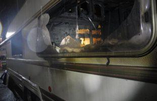 Siebnen: Totalschaden nach Wohnwagenbrand