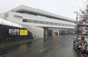 Feuerwehreinsatz im Stenna Center in Flims