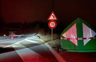 Cham ZG - Alk-Fahrt endet mit Unfall