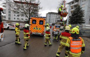 Arbeitsunfall in Steinhausen
