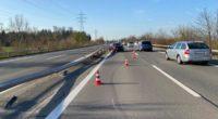 Risch Rotkreuz ZG - Auto prallt in Leitplanke: Totalschaden!