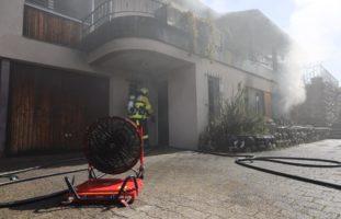 Hünenberg ZG: Einliegerwohnung nach Brand nicht mehr bewohnbar