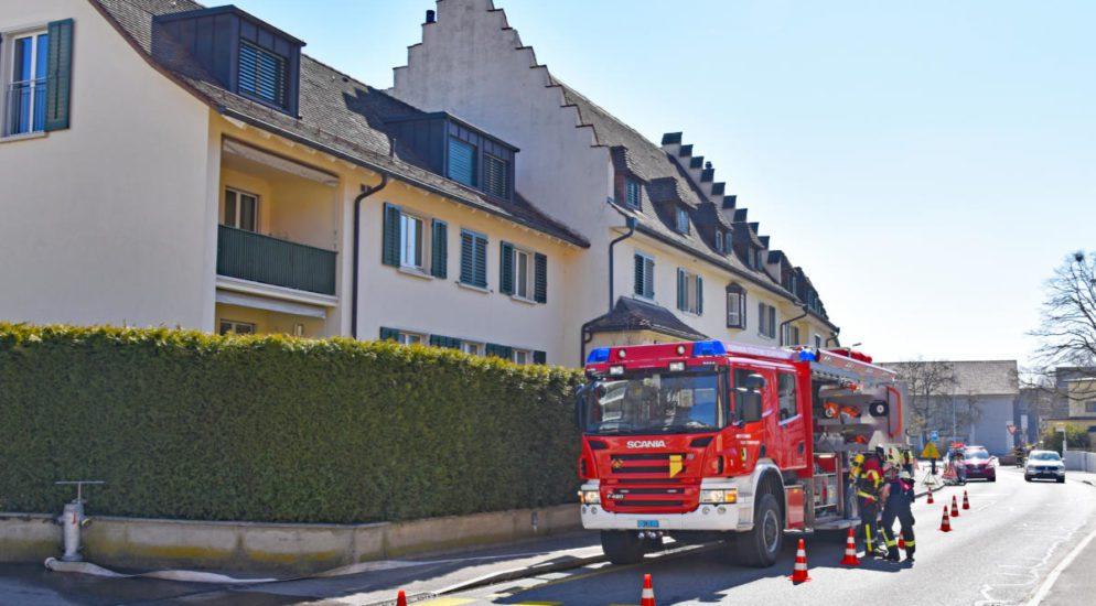 Glimmbrand in Schaffhausen