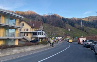 Feuerwehreinsatz in Oberägeri ZG