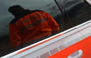 Stadt Luzern: Taxifahrer verletzt