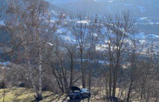 Bürchen VS: Fahrer bei Unfall aus Auto geschleudert und verstorben