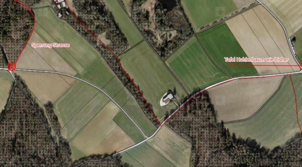 Strassensperrungen für Amphibienwanderungen in Beringen / Schaffhausen SH