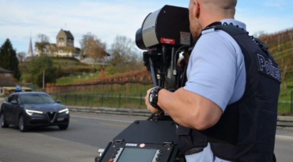 Einsiedeln, Euthal SZ: Mit 117 km/h durch 60er Zone gerast