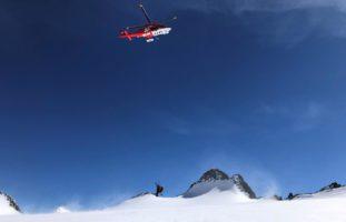 Gwächtenhorn BE - Evakuation aus Gletscherspalte