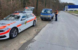Kanton Schaffhausen: Frau bei Gurtenkontroll-Aktion festgenommen