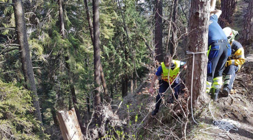 Bichelsee TG - Wanderin mit Rega gerettet