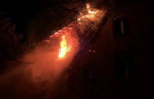Wohnungsbrand in Buchs