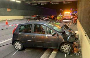 A1, Zürich: Sieben Verletzte bei schwerem Verkehrsunfall