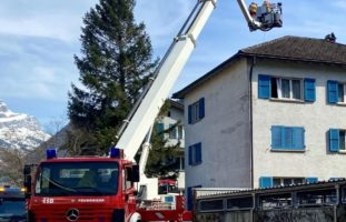 Kaminbrand in Altdorf UR