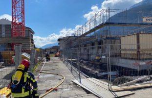 Schwerer Arbeitsunfall in Vionnaz