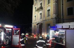 Promontogno GR: Hotel in Brand geraten