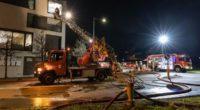 Bewohner in Cham nach Balkonbrand verletzt