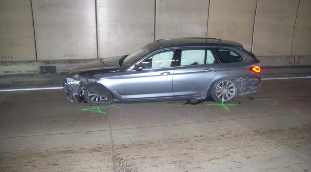 Seedorf UR - Selbstunfall auf der Autobahn A2