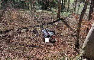 Motorradfahrerin bei Unfall in Kyburg gegen Baum geprallt