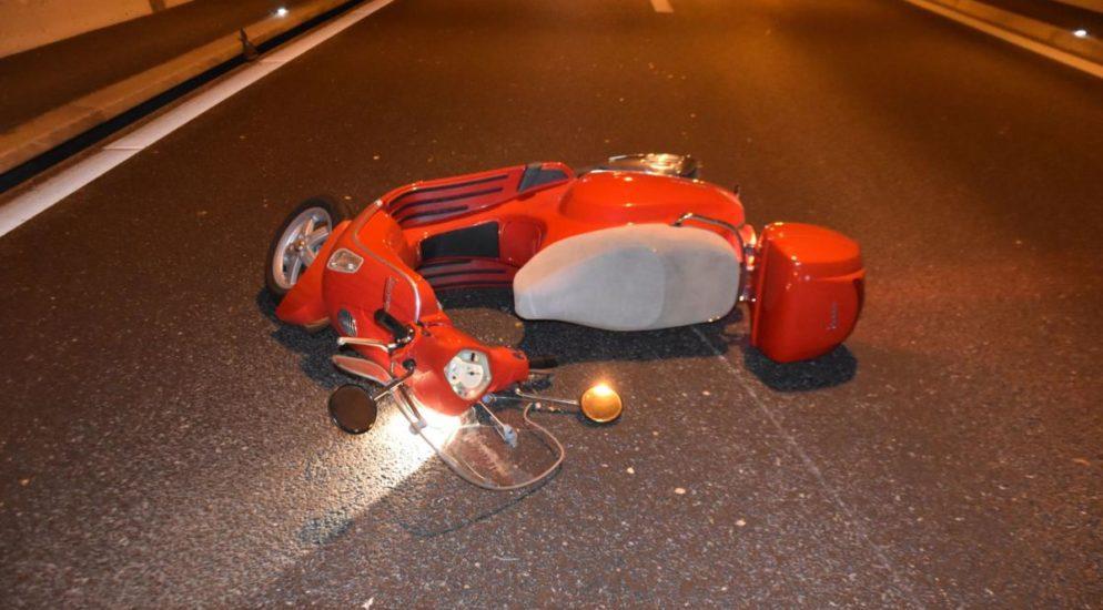 Bei Motorradunfall im «Birchitunnel» bei Biberist gestürzt und schwer verletzt