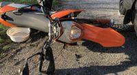 Motorradlenker bei Verkehrsunfall mit Auto verletzt