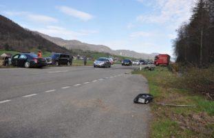 Herbetswil SO: Lenker nach Unfall mit LKW erheblich verletzt