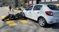 Balsthal SO - Heftiger Crash vor Fussgängerstreifen
