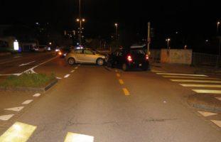 Verletzter Lenker bei Unfall in Münchenstein BL