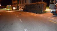 Verkehrsunfälle Schwellbrunn, Heiden AR: Fahrer (23) überschlägt sich heftig