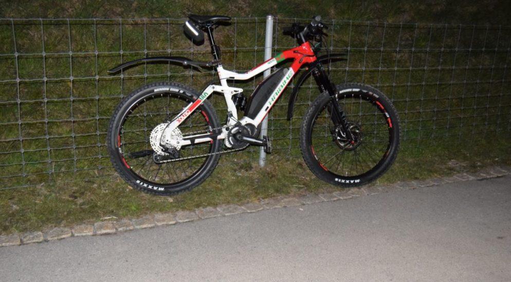 E-Bike-Lenker in Herisau verunfallt
