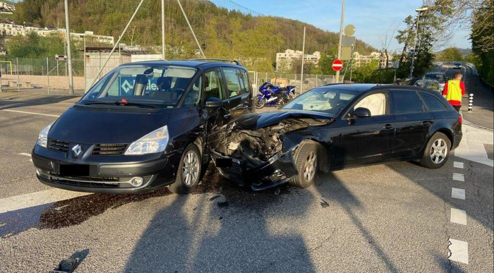 Heftiger Crash in Liestal BL