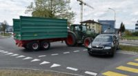 Schenkon LU - Sachschaden nach Traktor-Unfall