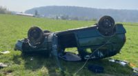 Verkehrsunfälle Villmergen, Aarau, Sins AG: VW-Lenker (21) fährt mit 1,8 Promille