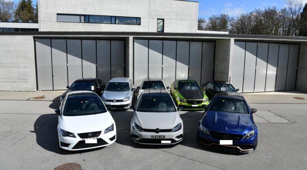Poser, Tuner, Schnellfahrer sowie unerlaubte Autotreffen im Kanton Aargau