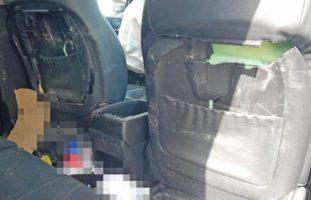 Bürglen: Crash zwischen zwei PW und einem Lastwagen