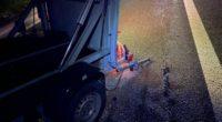 Suhr AG - Nach Crash auf der Autobahn A1 unbeirrt weitergefahren