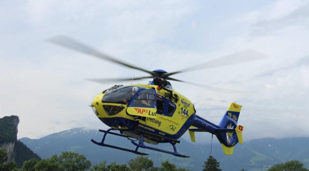 Schwerer Arbeitsunfall in Wollerau