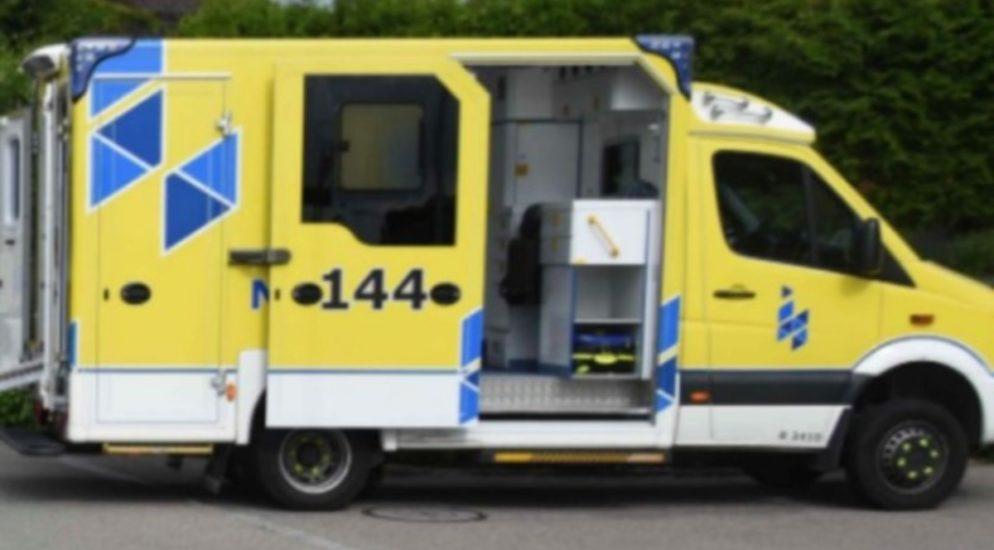 Kollision in Pratteln BL fordert verletzten Velofahrer