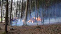Degersheim, Algetshausen: Brände bei Grillstellen