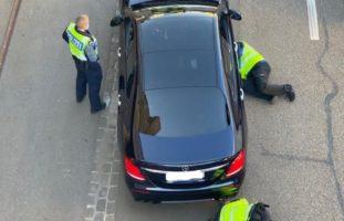 Basel: Kurzfristig angesetzte Verkehrskontrolle