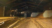 Domat/Ems: Brand in Produktionshalle ausgebrochen