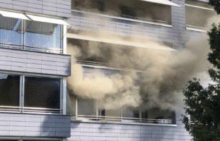 Zimmerbrand in einem Haus in Volketswil