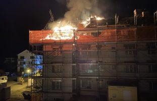 Winterthur ZH: Hausbrand am frühen Samstagmorgen