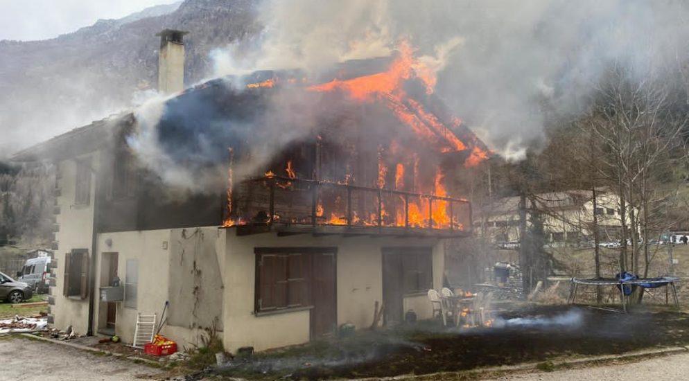 Herbriggen: Wohnhaus in Brand geraten
