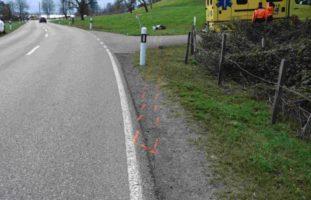 17-Jähriger nach Motorradunfall verletzt
