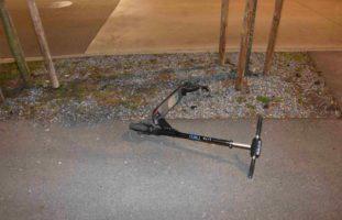 Mann bei E-Scooter-Unfall in Oberuzwil SG verletzt