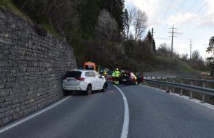 Sagogn GR: Heftige Kollision fordert zwei Verletzte