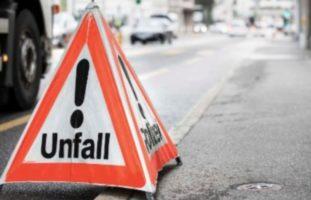 Verkehrsunfall zwischen Auto und Velofahrer in Liestal