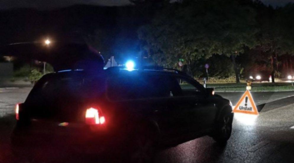Tägerschen TG - Lieferwagenfahrer alkoholisiert verunfallt