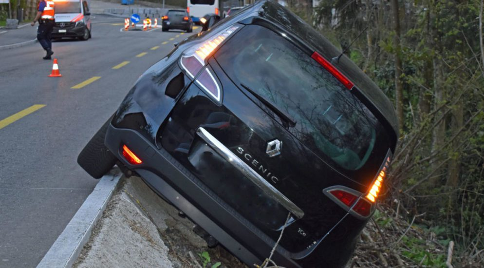 Luzern: Mehrere Verkehrsunfälle - Drogenschnelltest bei Lenker positiv